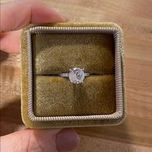 Jewelry - 14k White Gold Engagement Ring